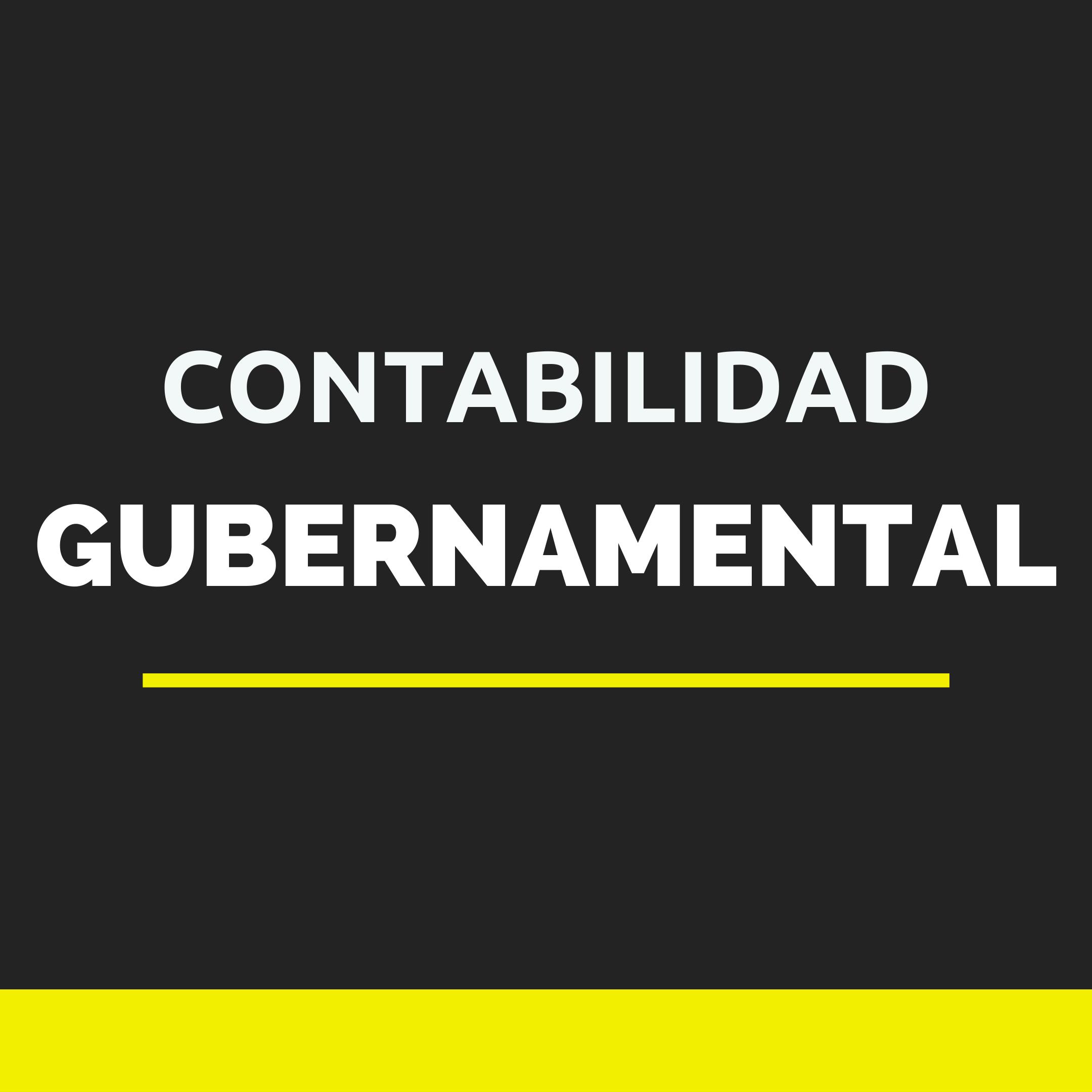 CONT. GUBERNAMENTAL
