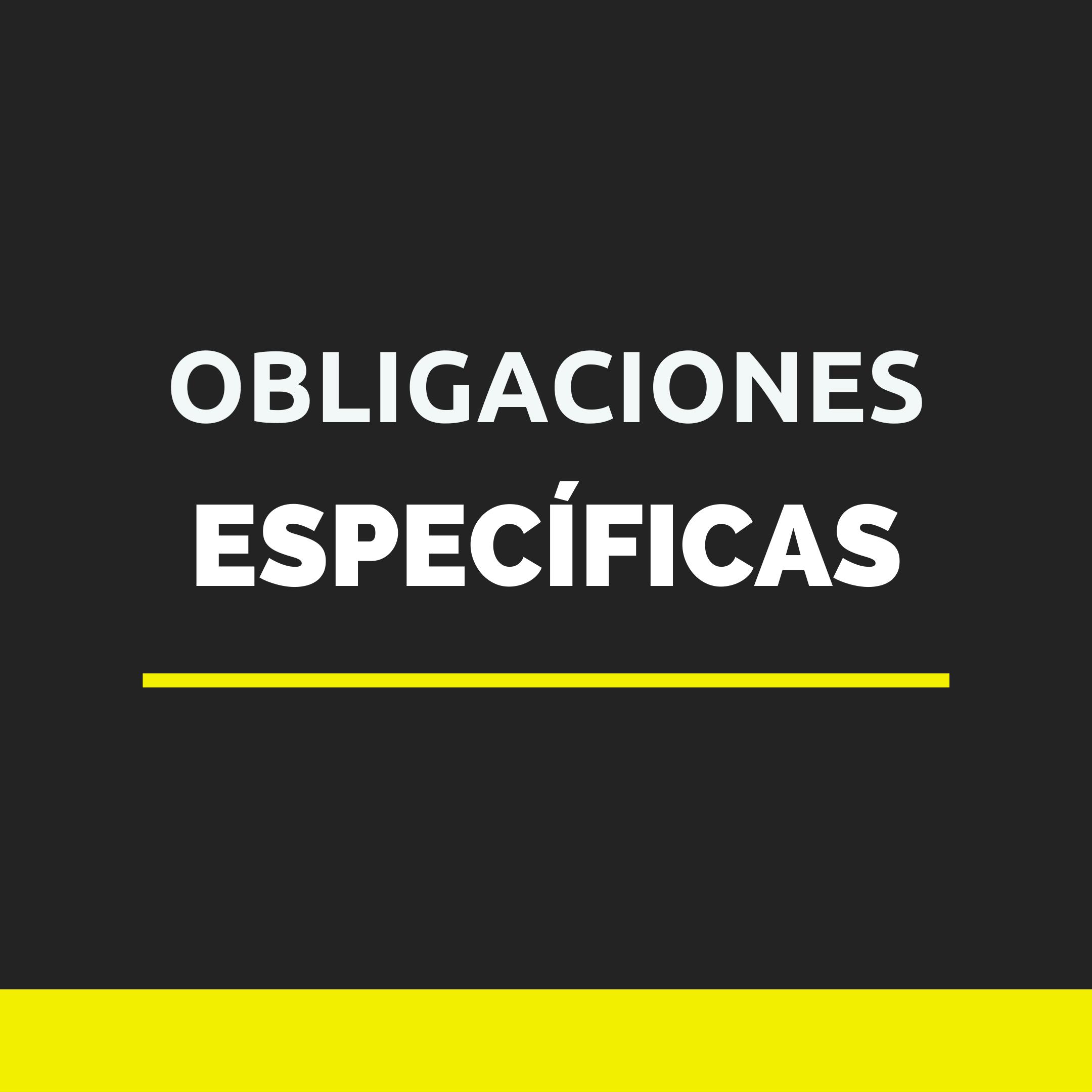 ESPECIFICA